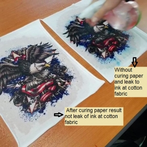 SUBLIMATION PAPER FOR COTTON FABRIC